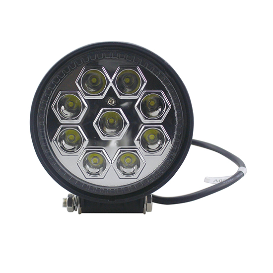 Off road round 27w led work light