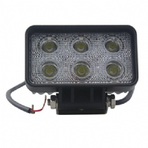 5 Inch 18W 6000K Pure White CE RoHS IP67 1260LM LED Work Light for Car