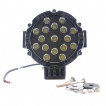 7 inch led work lamp for trucks 4x4 offroad 51W car led work light